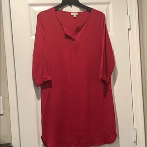 Maison Jules! Small Magenta shirtdress